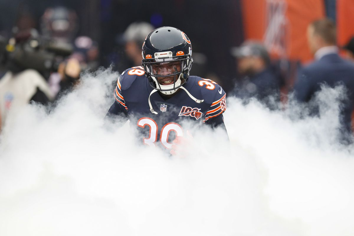 """""""They took the playoff game from us and I wasn't able to play,"""" Bears safety Eddie Jackson said of the Eagles. """"But it's time to finally see them again."""""""