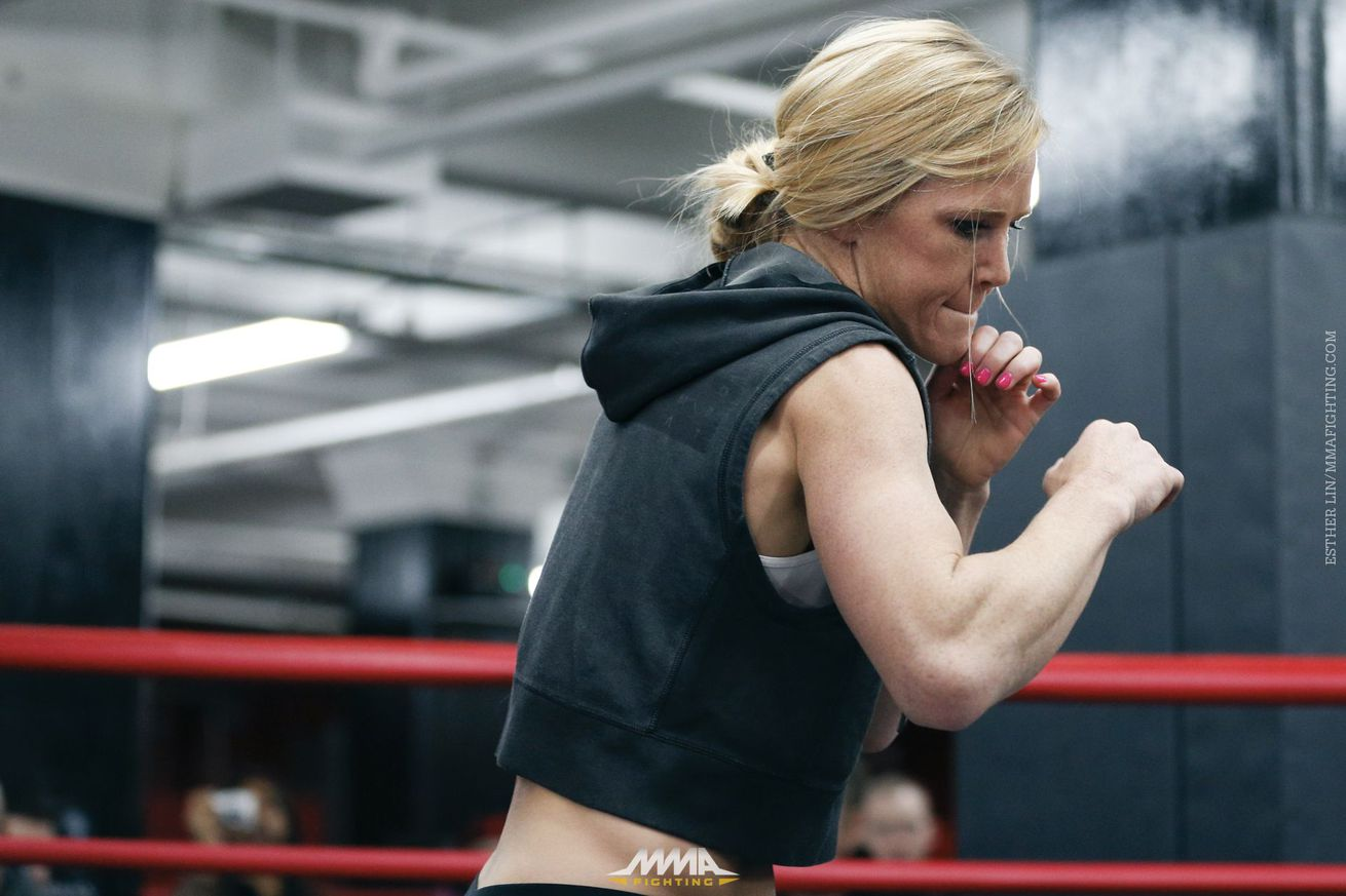 community news, Holly Holm's coach says fight with Bethe Correia could be 'do or die,' but mostly a 'do' situation
