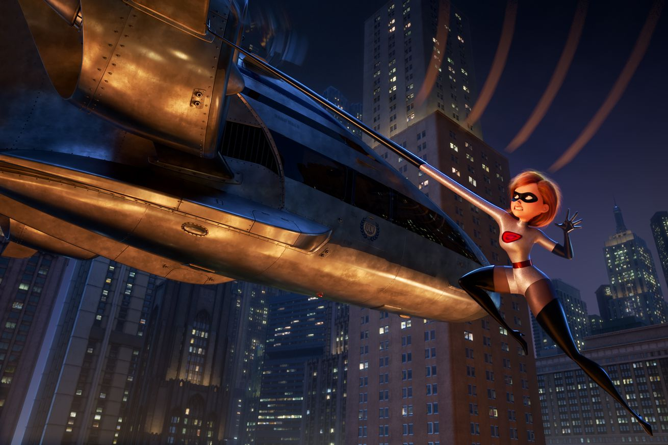 incredibles 2 director brad bird it s really just a big popcorn film