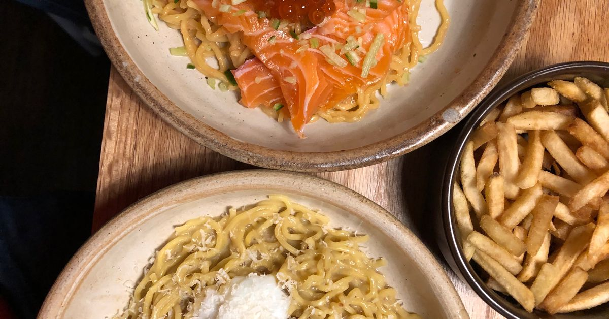 One of NYC?s Most Creative New Pasta Restaurants Is Actually a Ramen Spot