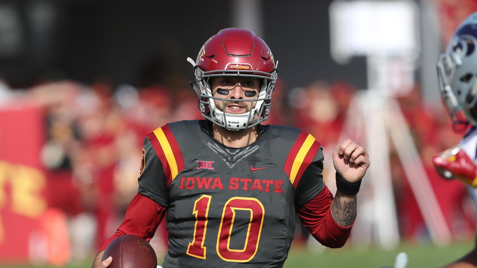 iowa state football position previews quarterback wide right natty lite. Black Bedroom Furniture Sets. Home Design Ideas