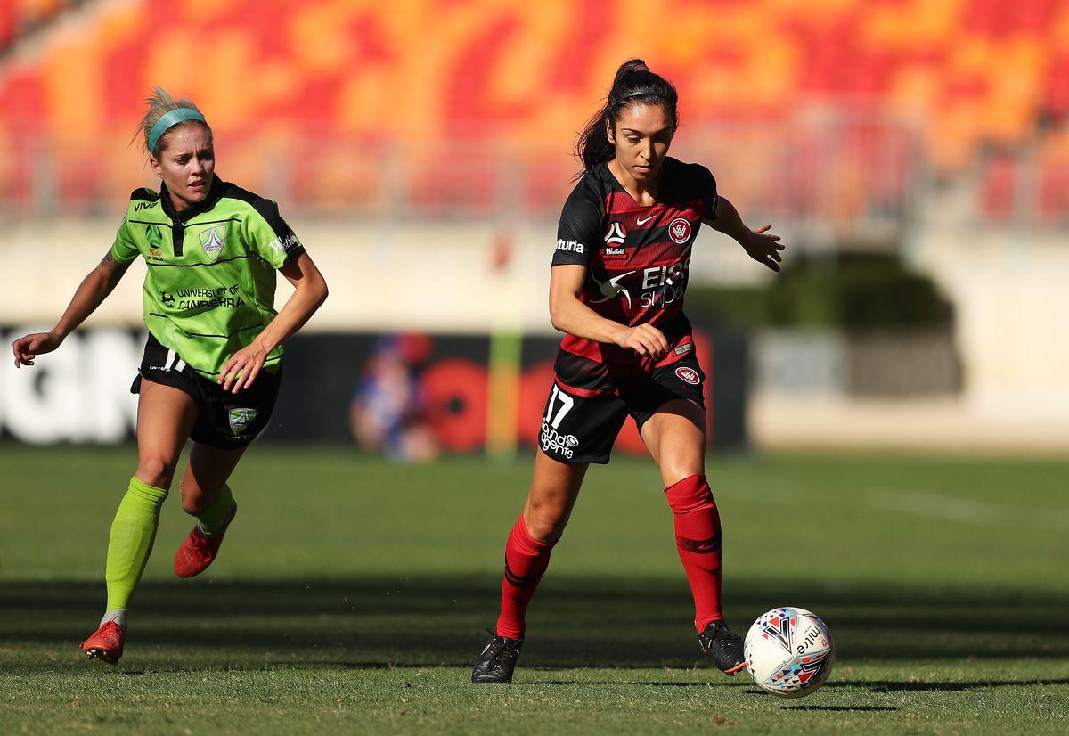 W-League Rd 6 - Western Sydney v Canberra