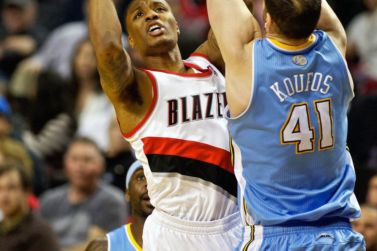 Damian Lillard gets another crack at the Nuggets.