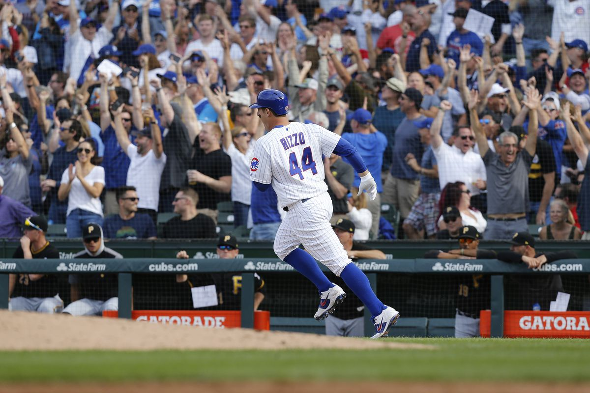 Cubs 17, Pirates 8: Cubs play like their hair is burning in much-needed rout