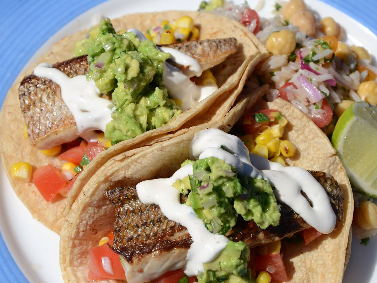 Sail into spring with 15 fabulous fish tacos eater dc for Fish taco restaurant