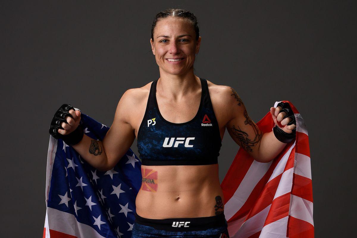 Nina Nunes - UFC 231: Holloway v Ortega