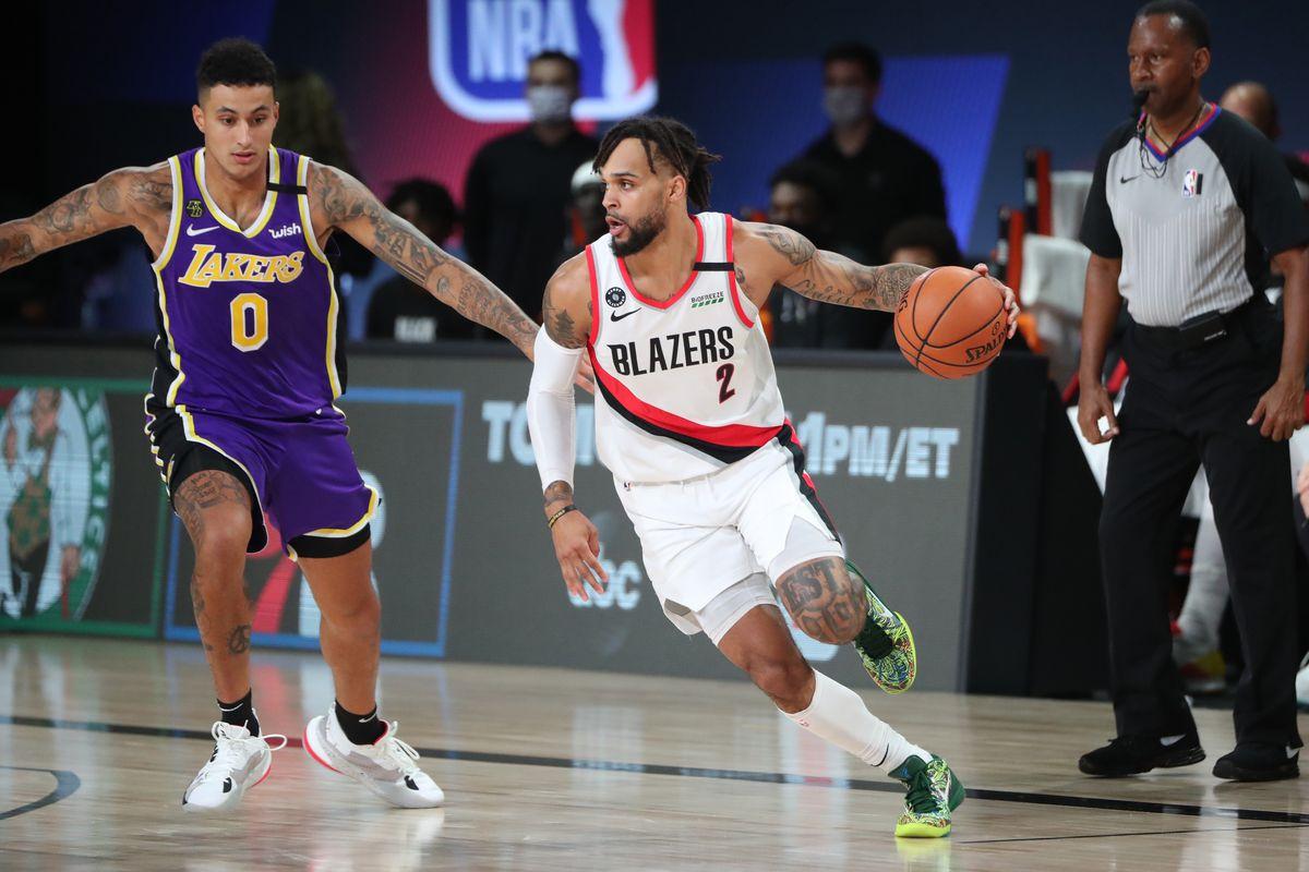Los Angeles Lakers v Portland Trailblazers