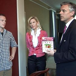 Former U.S. Ambassador Jon Huntsman Jr. with his wife Mary Kay and son Will in Beijing. Hunstman gave an interview with Time magazine recently.