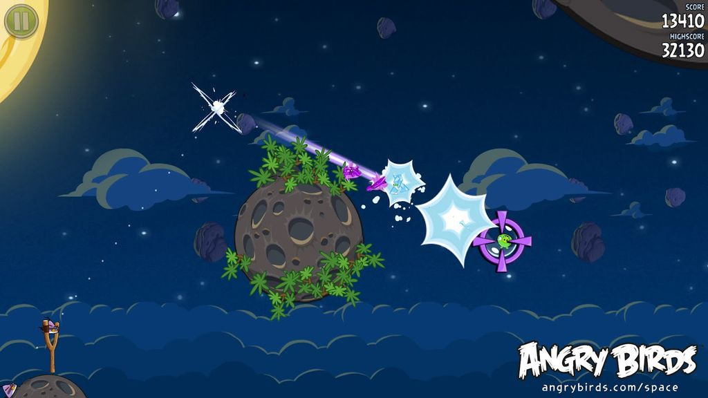 Angry Birds Space. Dan Guzman would have a much better score than this.