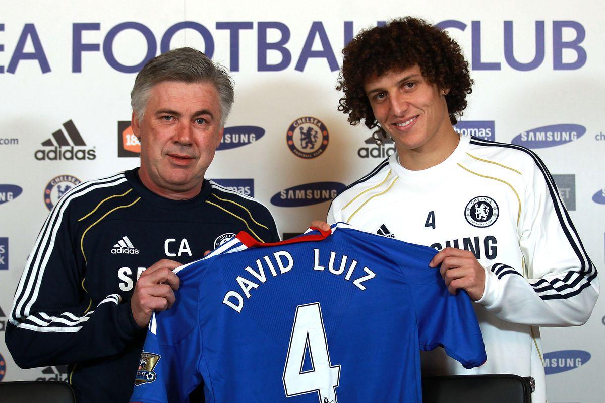 Image result for david luiz chelsea transfer 2011