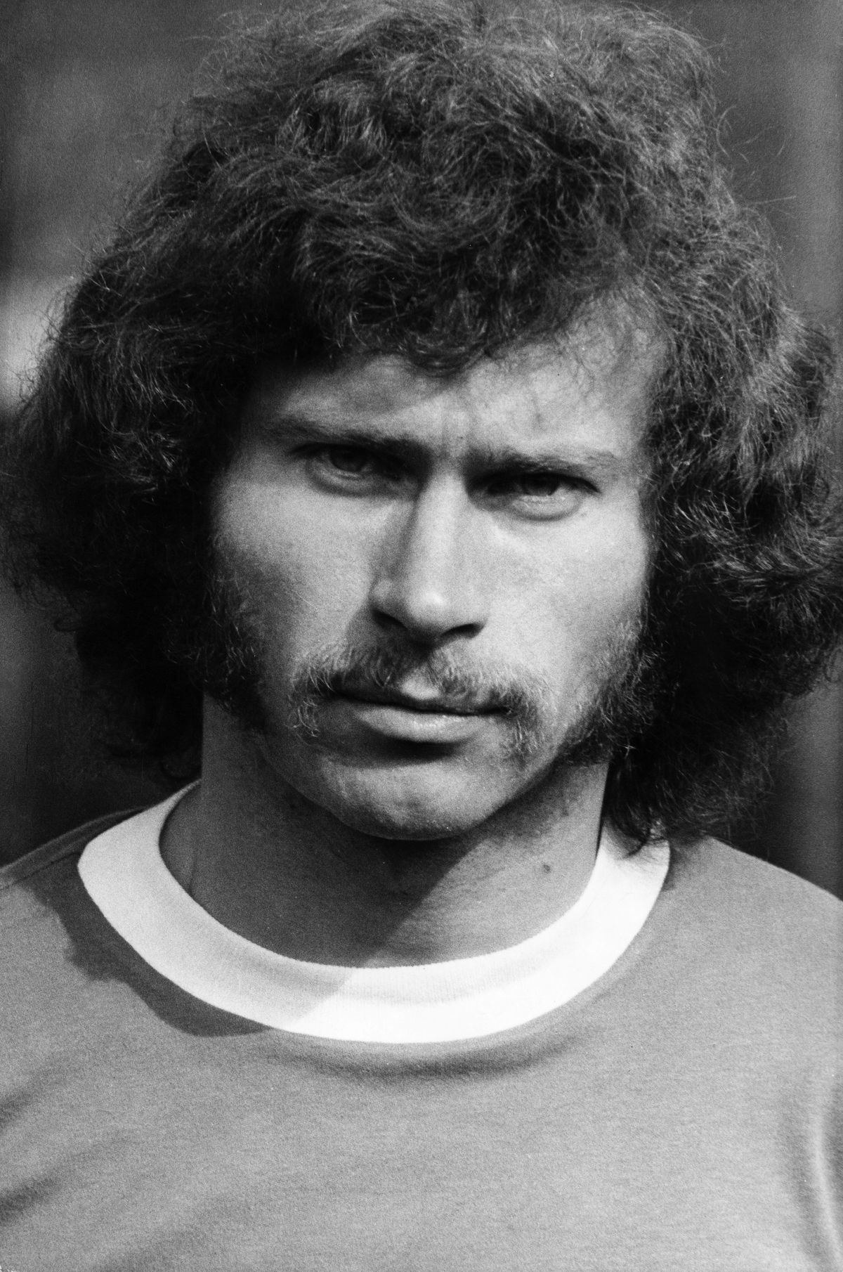 (GERMANY OUT) Breitner, Paul *05.09.1951- Fussballspieler, D Nationalspieler, Weltmeister 1974 - Portrait - 1974