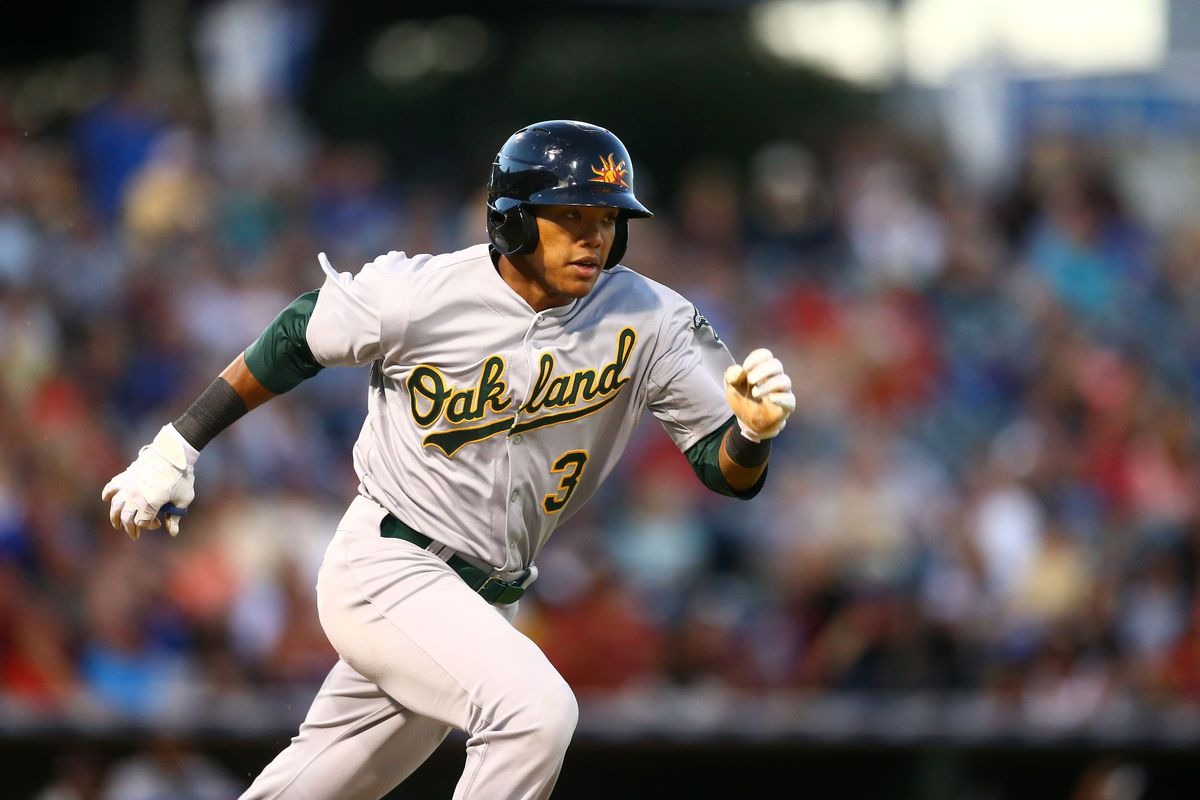 Addison Russell is the Athletics' undisputed top prospect