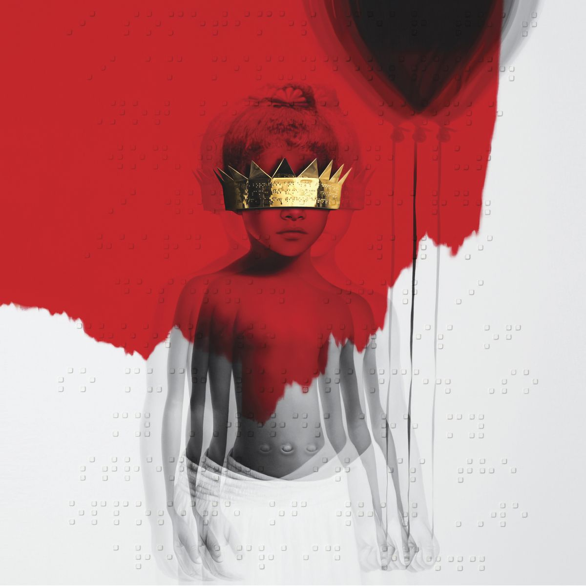 """This cover image released by Roc Nation shows """"Anti,"""" by Rihanna."""