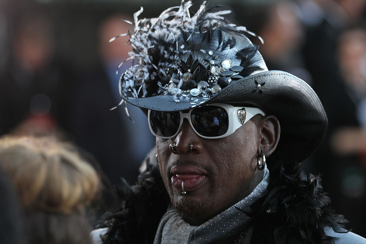 Dennis Rodman, who is only one of two people to meet President Donald Trump and North Korean leader Kim Jong Un.