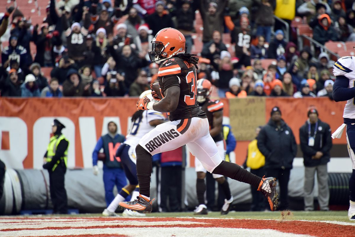new concept dfb76 27ce8 Cleveland Browns RFA Review: RB Isaiah Crowell - Dawgs By Nature