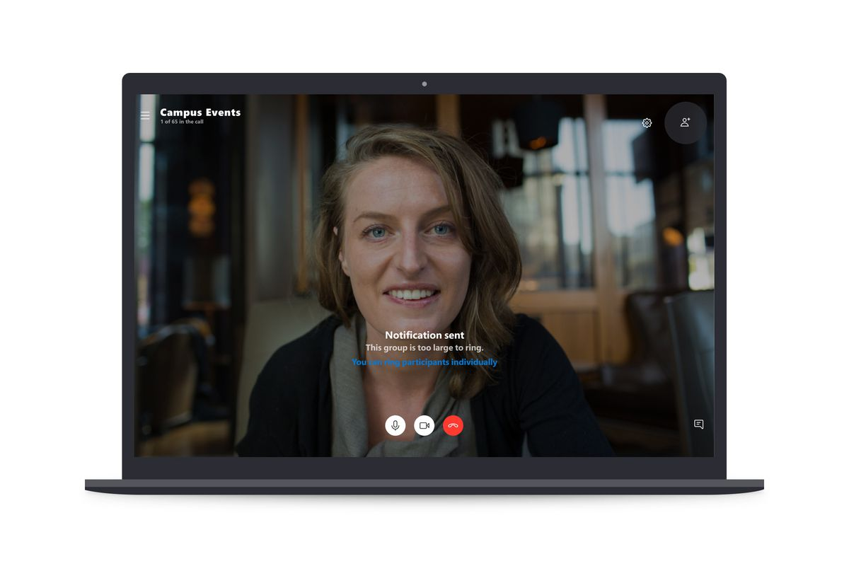 Microsoft is doubling Skype group video chats to 50