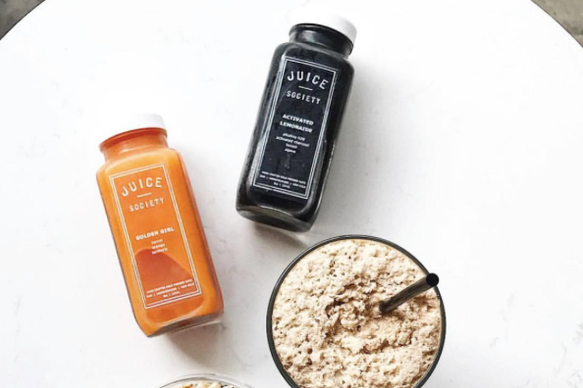 Juices and parfaits from Juice Society