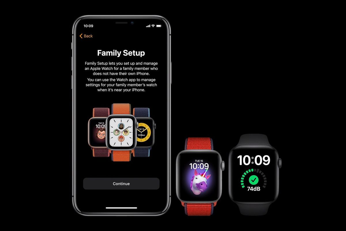 Family Setup will let you manage multiple Apple Watches from a single  iPhone - The Verge