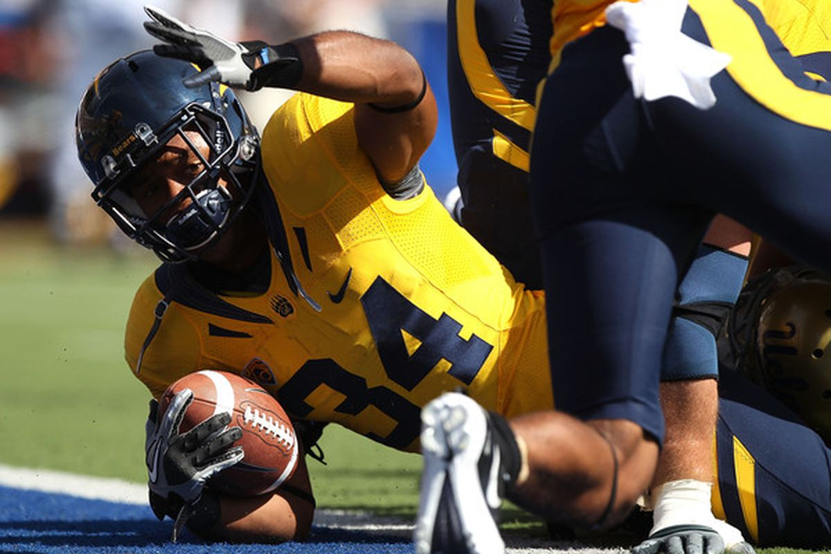 With Kevin Riley out, Shane Vereen is the key to the Cal offense.