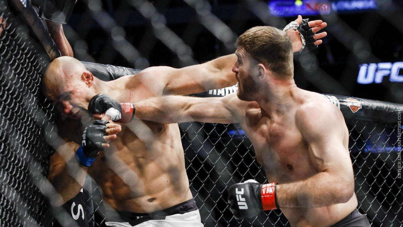 UFC 211 results: Stipe Miocic knocks out Junior dos Santos in first round
