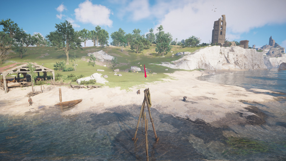Cent Artifacts locations map