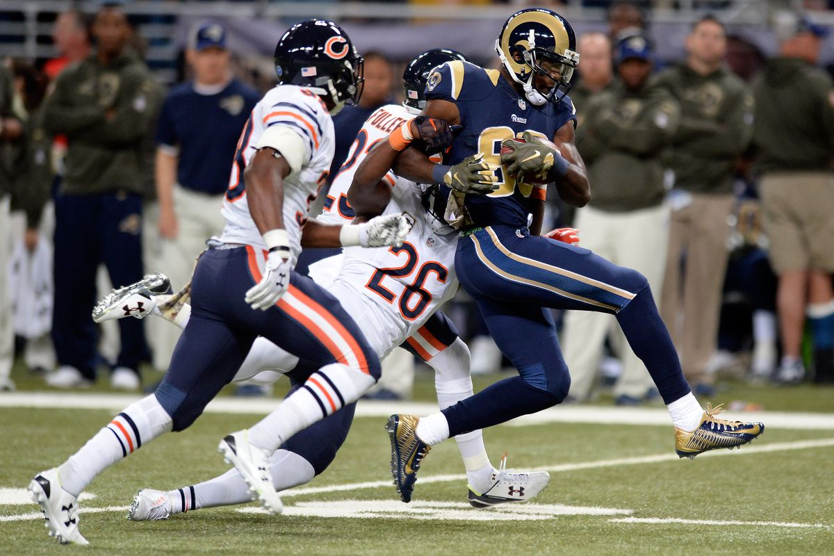 Chicago Bears v St Louis Rams