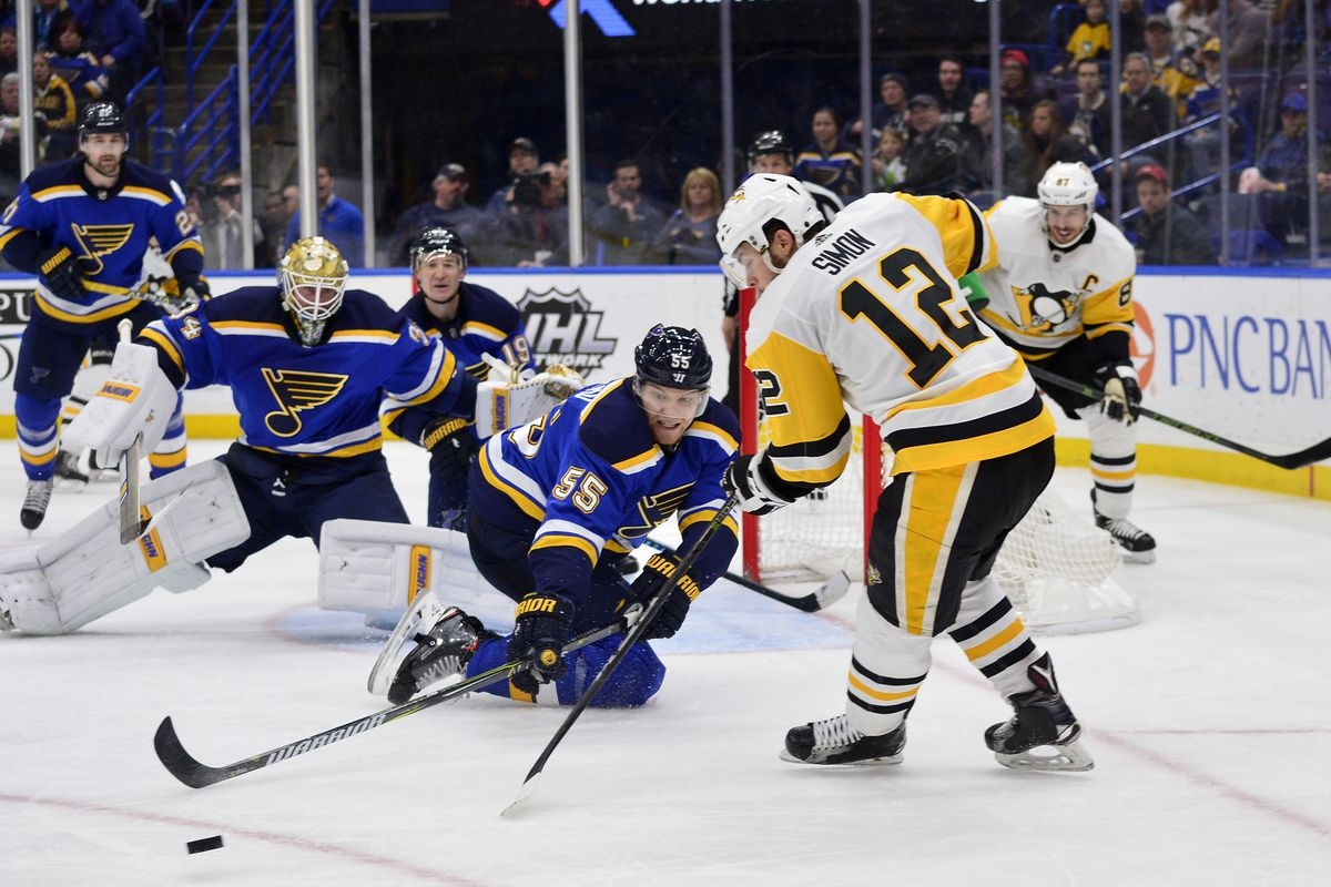 NHL: Pittsburgh Penguins at St. Louis Blues