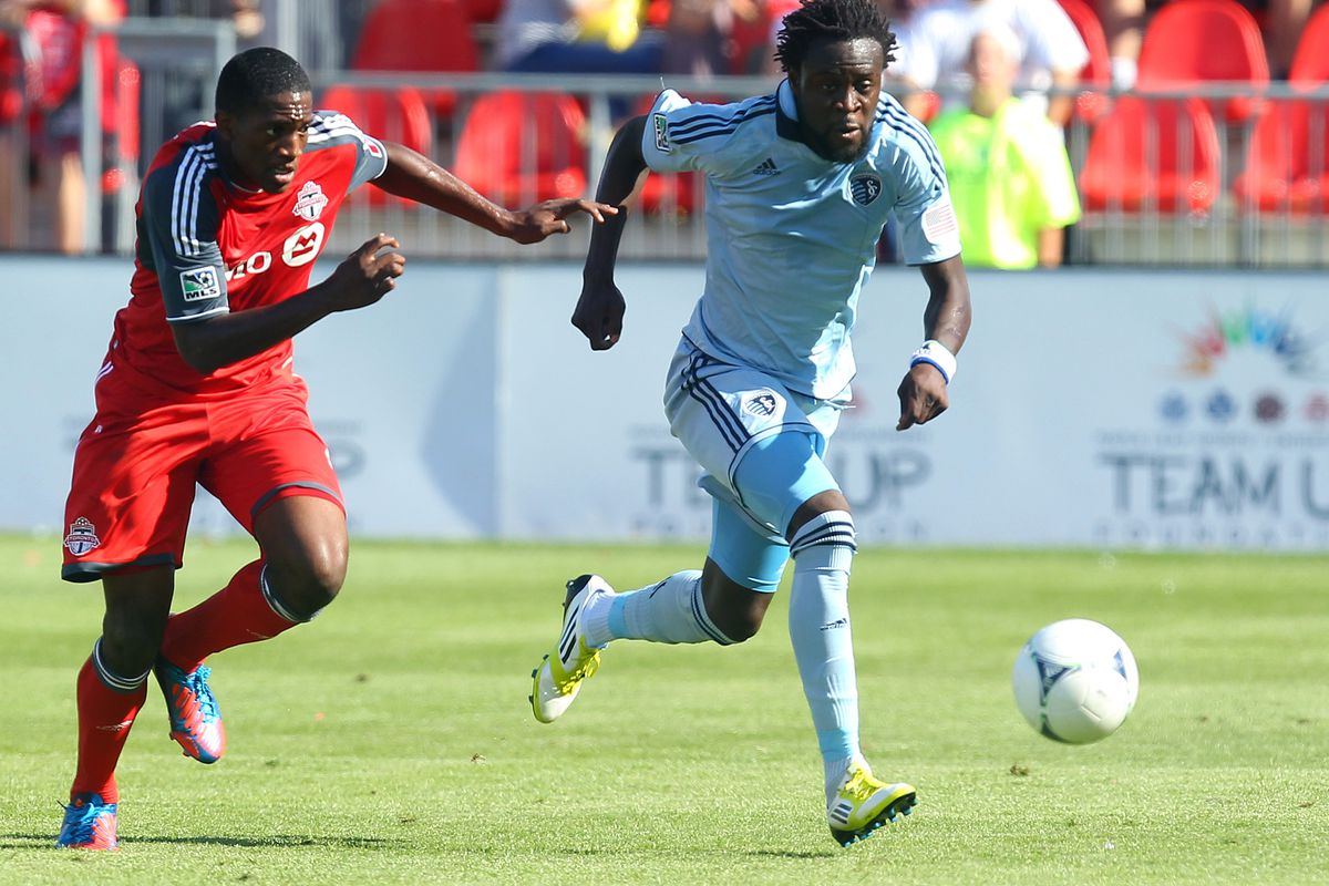 Kei Kamara to the rescue! (Photo by Abelimages/Getty Images)