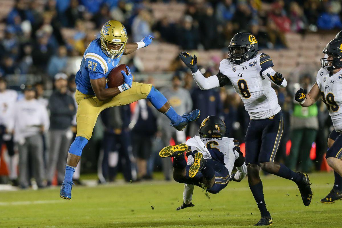 COLLEGE FOOTBALL: NOV 30 Cal at UCLA