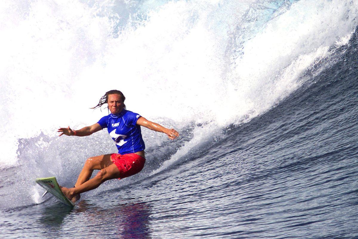 Keala Kennelly is an out lesbian pro surfer.