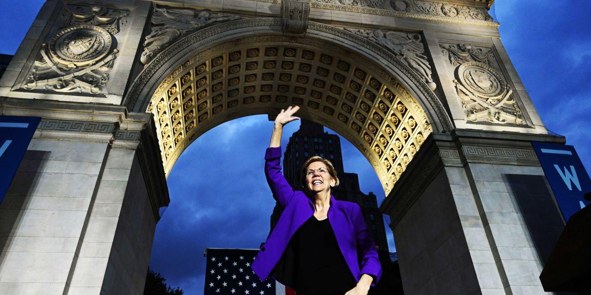 Elizabeth Warren is now leading the 2020 polls