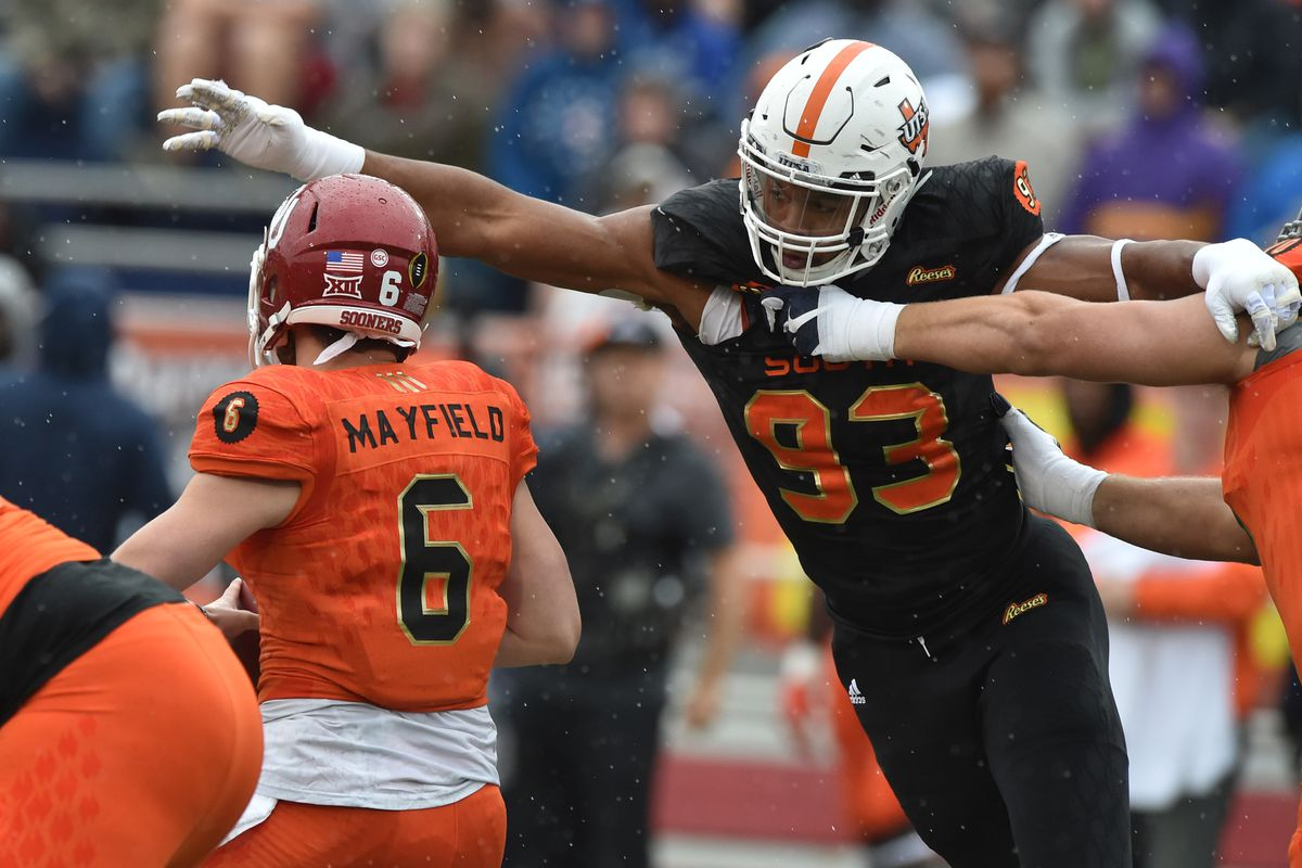 Marcus Davenport was a pass-rushing nightmare at UTSA. The Saints are  getting a good one. b4e201706