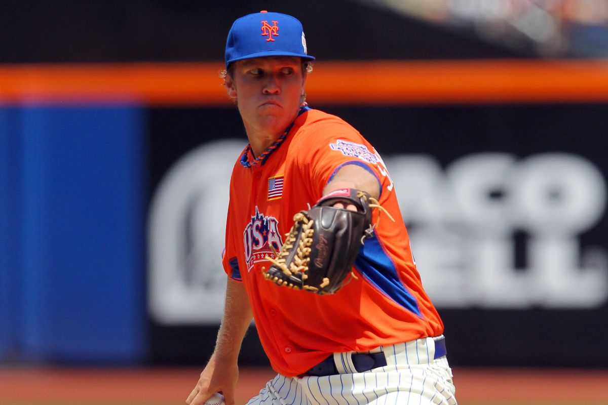 """The one they call """"Thor"""", RHP Noah Syndergaard."""