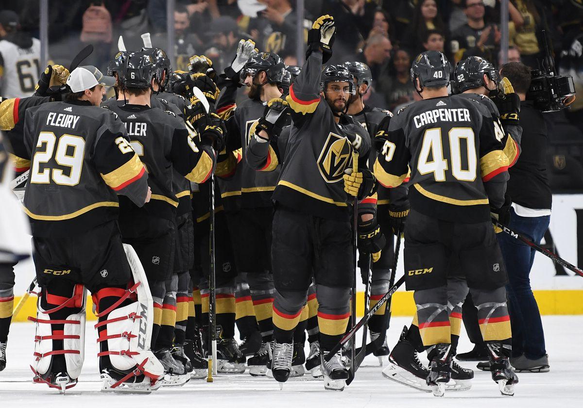 Florida Panthers v Vegas Golden Knights