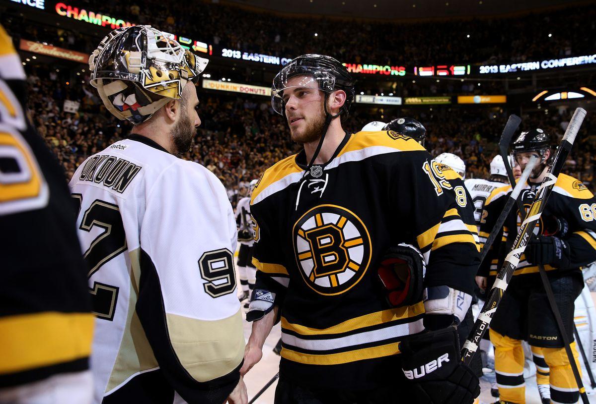 Pittsburgh Penguins v Boston Bruins - Game Four
