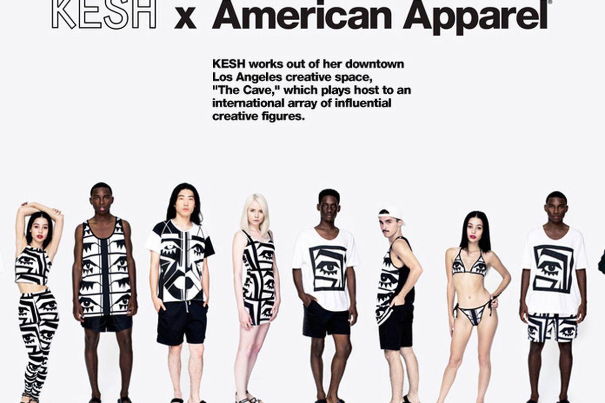 Image via American Apparel
