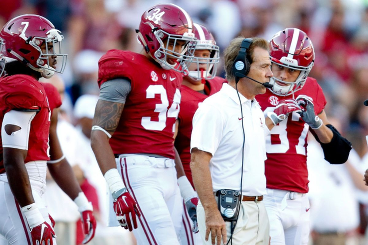 Updated 2018 Alabama Football Depth Chart Position Guide Roster