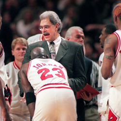 Michael Jordan and Scottie Pippen are a given on any Bulls all-time starting five, but who fills the other three positions? | Sun-Time s Media