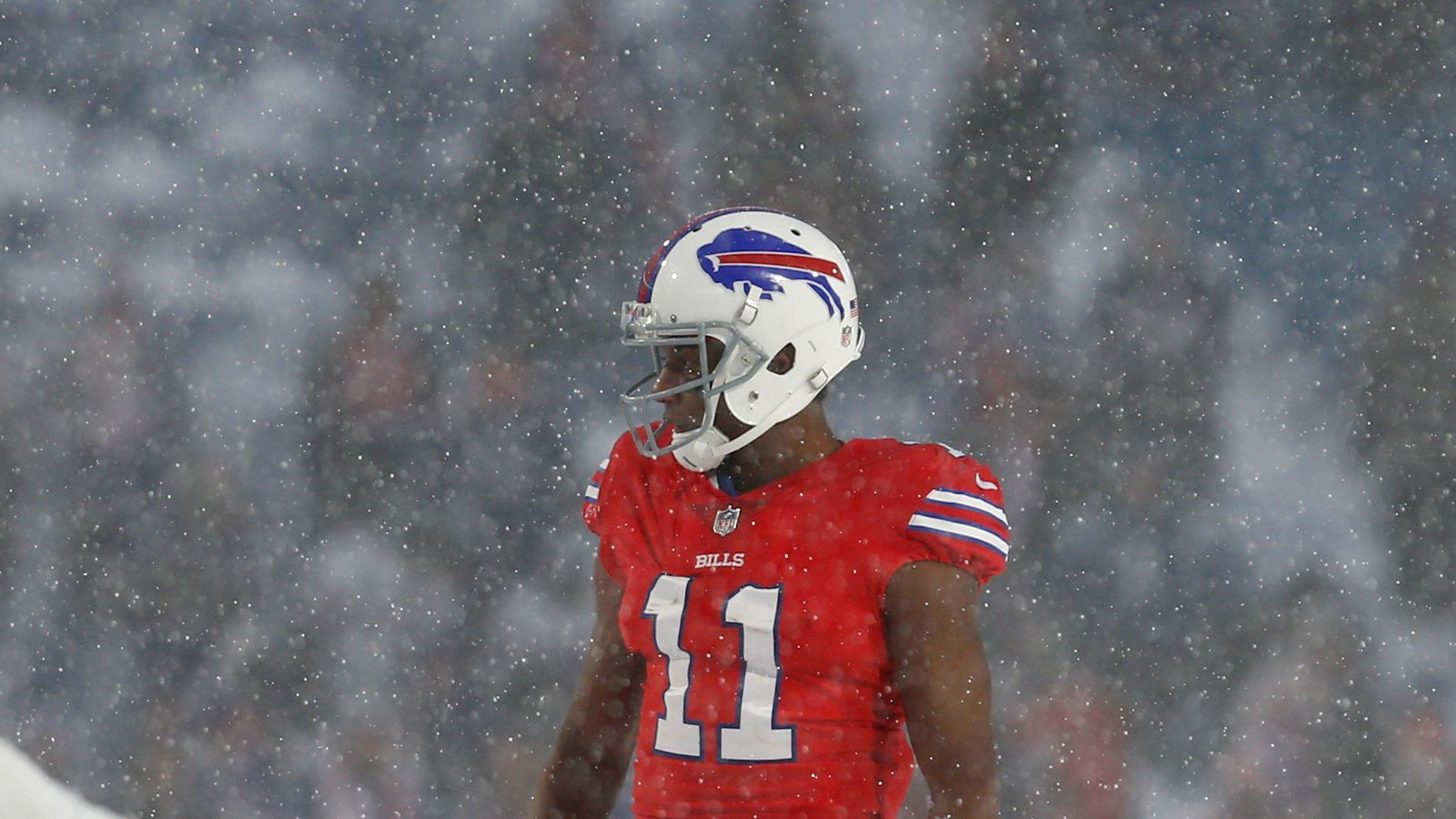 Bills Zay Jones released from jail after naked, bloody