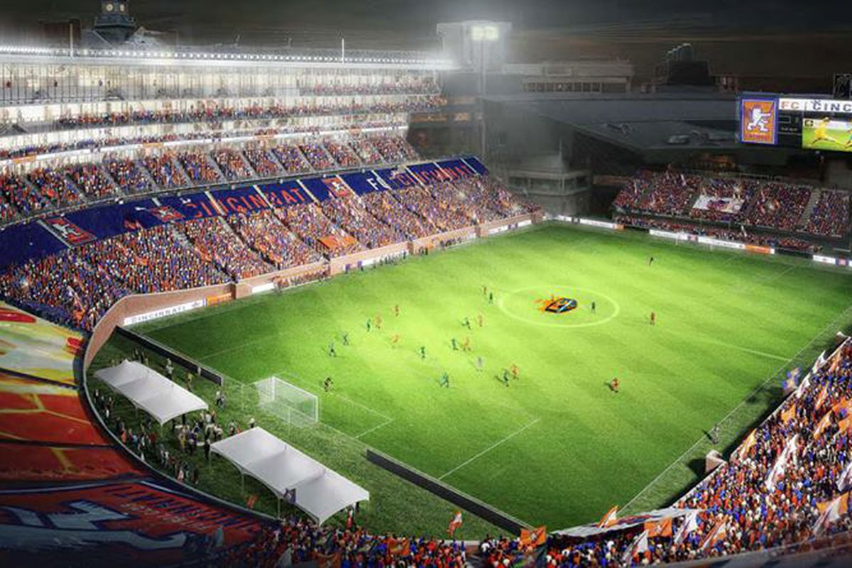 How FC Cincinnati plans to utilize Nippert Stadium in the city's downtown.