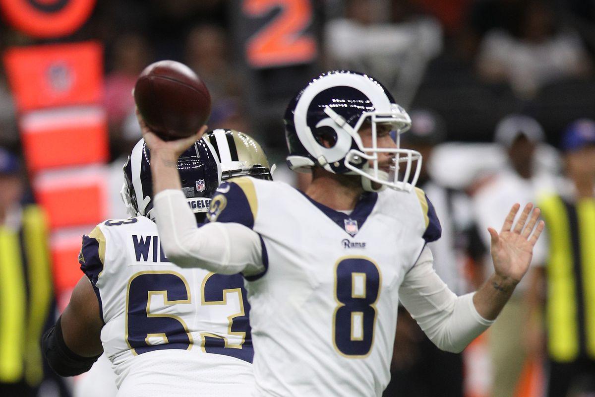 Los Angeles Rams v New Orleans Saints