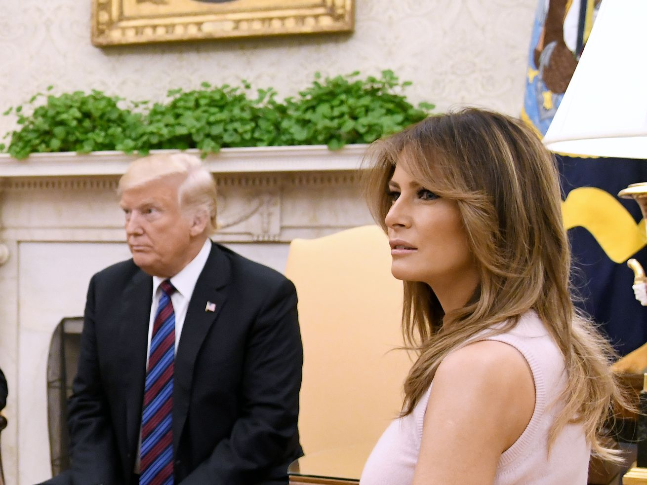 """In an ABC interview taped during her first solo trip abroad, first lady Melania Trump said she has """"more important things to think about"""" than her husband's alleged affairs."""