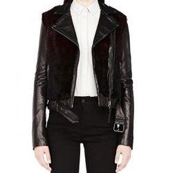 "<b>Mackage</b> Tamika Merlot Leather Jacket with Rabbit Fur, <a href=""http://www.mackage.com/us/en/tamika-merlot-leather-jacket-with-rabbit-fur"">$995</a>"