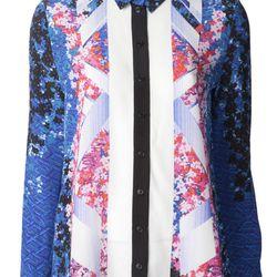 """Peter Pilotto blouse, <a href=""""http://www.farfetch.com/shopping/women/peter-pilotto-arrow-blouse-item-10583641.aspx?storeid=9273"""">$910</a>"""