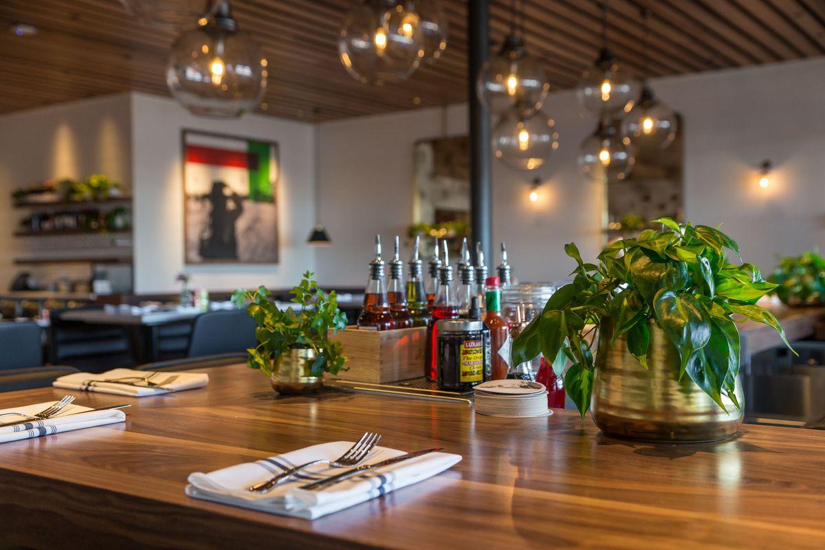 The bar at North Italia