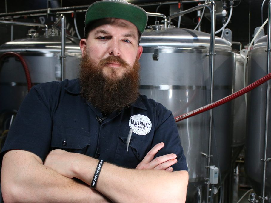 Brewmaster Trevor Rose-Hamblin of Old Irving Brewing Co.| Brian Rich for the Sun-Times