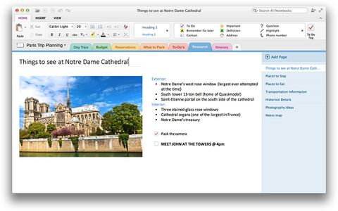 Microsoft launches OneNote for Mac, brings new features to