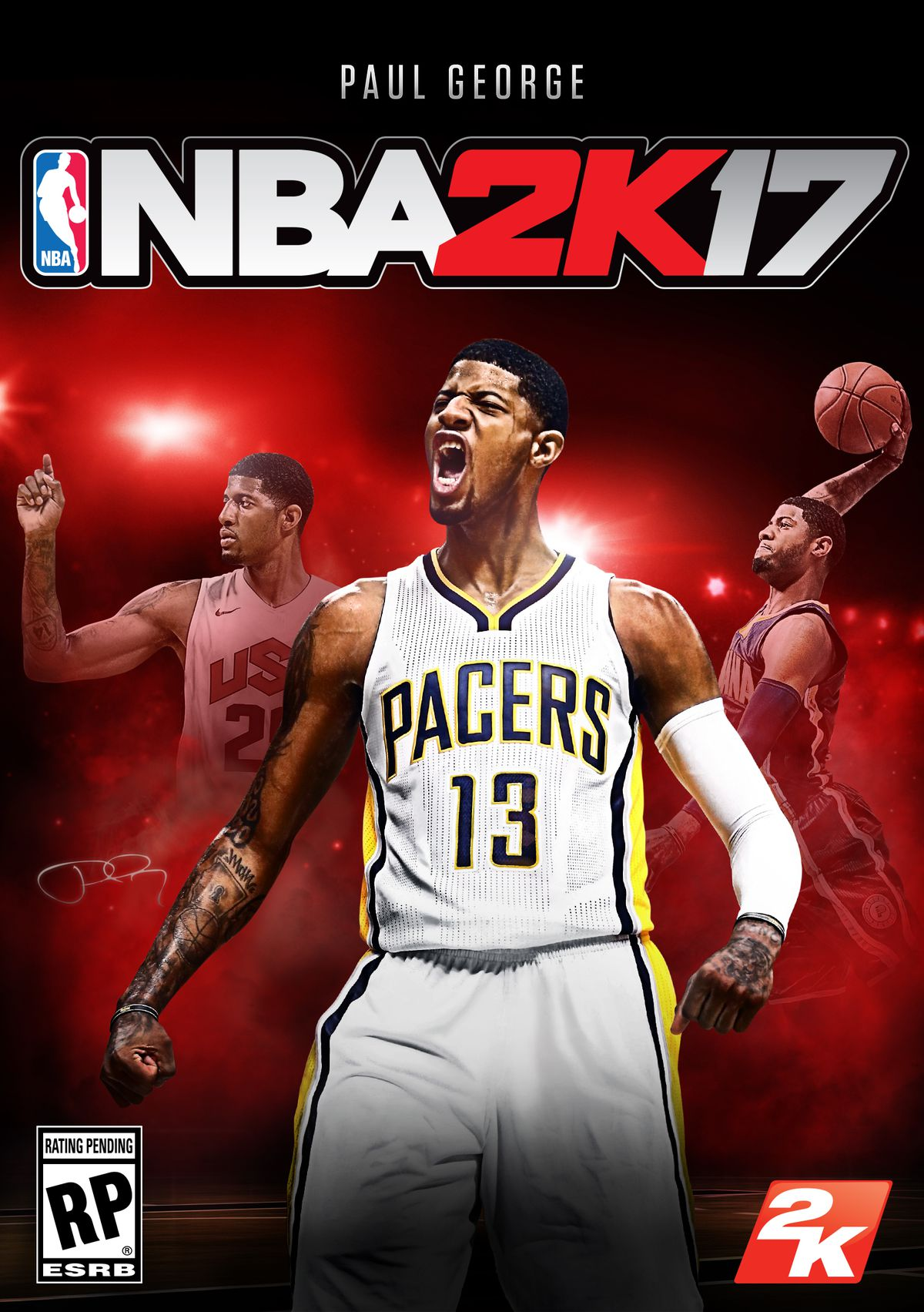 Paul George NBA 2K17