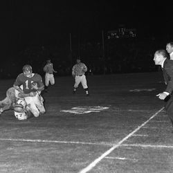 1966- Under the lights FSU football game in Tallahassee against the University of Houston.