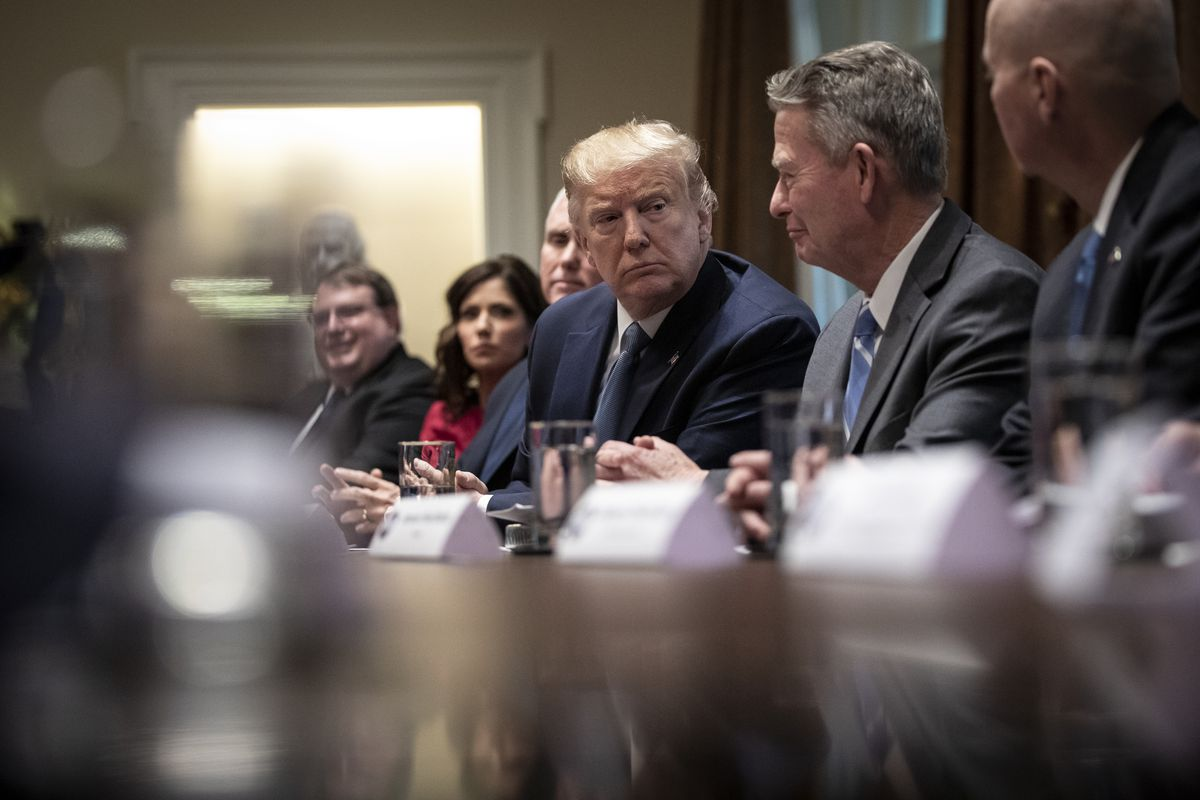 President Trump Hosts Roundtable Discussion On Governors' Initiative On Regulatory Innovation